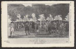D 75 - ANCIEN PARIS - 669 - Jardin De L'Ancienne Bourse - Rue Vivienne - 1780 - France