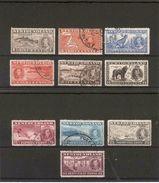 NEWFOUNDLAND 1937 CORONATION  LONG SET (ex 20c) SG 254/256 (ex SG 264)FINE USED - 1908-1947