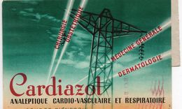 Médecine, Coeur, Cardiologie, Médicament, Classe Ouverte - Carte Publicitaire  (S150) - Medizinische Und Zahnmedizinische Geräte