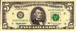 ETATS-UNIS 5 DOLLARS De 1995   H8 SAINT LOUIS  Pick 498  AU/SPL+ - Billets De La Federal Reserve (1928-...)