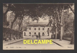 DF / 26 DRÔME / TAIN-L'HERMITAGE / LA GARE / CIRCULÉE EN 1933 - Frankreich