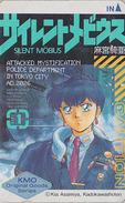 Télécarte Japon / 110-011 - MANGA - SILENT MÖBIUS By KIA ASAMIYA - CAUTION - ANIME Japan Phonecard - BD COMICS TK - 8153 - Comics