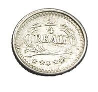 1/4 Réal -  Guatemala - 1890 - Argent 835/00 - TTB - - Guatemala