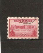 NEWFOUNDLAND 1943 30c SG 290  FINE USED Cat £5.50 - Neufundland