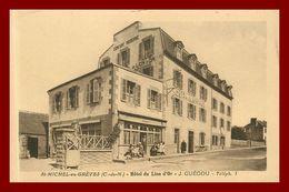 Saint Michel En Grève  *  Hotel Du Lion D'or   ( Scan Recto Et Verso ) - Saint-Michel-en-Grève