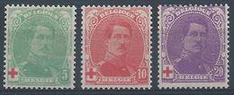129/31 * Faibles Traces De Charnières      Cote  21.00 - 1918 Red Cross