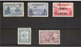 NEWFOUNDLAND 1941 - 1947 SETS FINE USED Cat £6.75 - 1908-1947
