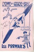 10 Troyes - Photo Carte Les Forwar's Illustrée Par Harford I.dédicacée Au Personnel De L'olympia 26.03.1929.Tb état. - Troyes