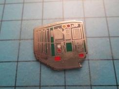 Pin1315c Pin´s Pins : BEAU ET RARE :  WAGON DE METRO BELLE QUALITE  , Marquage Au Dos : - BALLARD  - - Transportes
