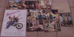 AFFICHE CINEMA ORIGINALE FILM MANNEQUIN + 8 PHOTOS EXPLOITATIONS Michael GOTTLIEB Kim CATTRALL 1987 TBE MOTOCYCLETTE - Posters