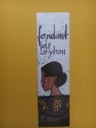 4293 -  Fendant De Leytron 1993 Valais Suisse Illustration R.Mirer Pour Maison Misani St-Moritz - Kunst