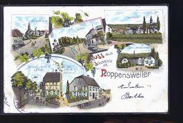 ROPPENSWEILER GRUSS ALLEMAGNE TIRAGE 1900 - Allemagne