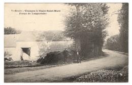 91 ESSONNE - Route D'Etampes à Chalo Saint Marc, Ferme De Longuetoise - Francia