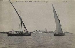 - Dpts Div.-ref-PP462- Bouches Du Rhone - Saintes Marie De La Mer - Stes Maries De La Mer - Tartane - Tartanes - Peche - Saintes Maries De La Mer