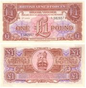 Gran Bretaña - Great Britain 1 Pound 1956 3ª Serie Pick M29 UNC - Autoridad Militar Británica