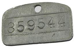 3 Jetons  De Sac Postal Ou Autre - Belgique - 1946 47 48 - Zinc - Très Beaux - - 1945-1951: Régence