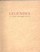 BELGIQUE, Légendes Et Contes Populaires GANTOIS, 67 Pages, De 1955, GAND, - Poésie
