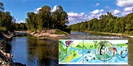 Mk 2013 Renaturierung / Renaturation River Landscape/renaturation Rivière Paysage/paesaggio Del Fiume Di Rinaturazione - Maximumkarten (MC)