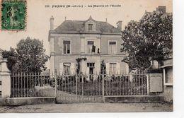Feneu La Mairie L'Ecole - France