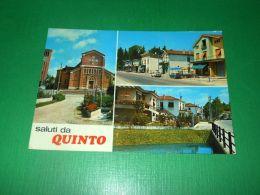 Cartolina Saluti Da Quinto Di Treviso - Vedute Diverse 1974 - Treviso