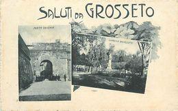 A-17.6492 :  SALUTI DA GROSSETO - Grosseto