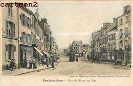 FONTAINEBLEAU PLACE DE L'ETAPE AUX VINS 77 - Fontainebleau