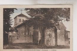 NANTEUIL DE BOURZAC    L ' EGLISE - France