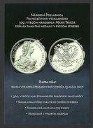 Slovakia, Numismatics, MariaTheresia - Publicités