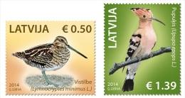Latvia 2014 Mih. 907/08 Fauna. Birds MNH ** - Latvia