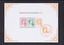 Bloc  N° 133 Neuf ** Marianne Et La Jeunesse - Voir Verso & Descriptif - - Blocs & Feuillets