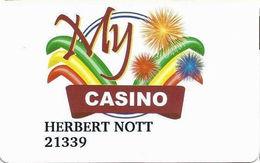 My Casino - Henderson, NV USA - Slot Card - Casino Cards