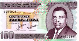 Burundi 2010, 100 Francos (UNC) - CF3059 - Burundi