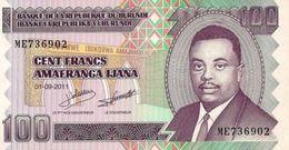 Burundi 2011, 100 Francos (UNC) - CF2267 - Burundi