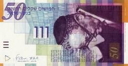 ISRAEL 50 NEW SHEQALIM 2007 P-60c UNC [ IL437c ] - Israel