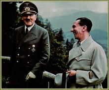 Militaria WW2 - Adolf Hitler Et Josef Goebbels Au Berghof - 1939-45