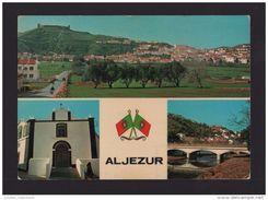 ALJEZUR 1960 YEARS PORTUGAL ALGARVE ALJEZUR MULTI VIEWS POSTCARD - Faro