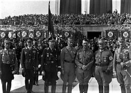 Militaria WW2 - Hitler, Himmler Et Göring à Nuremberg - 1939-45