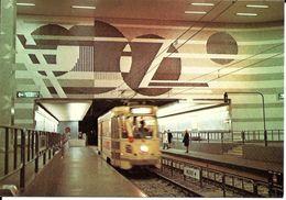 Bruxelles (1000) : Métro De Bruxelles, En Version Prémétro - Ligne 5, Station Diamant. CPSM. - Transport Urbain Souterrain
