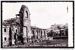 COIMBRA - Antigo Convento Da Rainha Santa // Edição - Comissão Municipal DeTurismo .. 2 Imagens - Coimbra