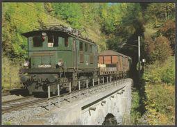 Österreichischen Bundesbahnnen Elektro-Güterzuglokomotive 1145.011-1 - Reiju Postcard AK - Trains