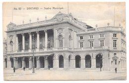 Chile - SANTIAGO - Teatro Municipal - Ed. Gallardo Hnos No. 92 - Chile