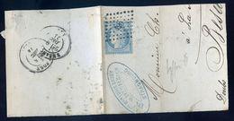 Lettre Marcophilie -- Marque Postale 420 -- Cachet Pfeiffer Strasbourg  NCL99 - Marcophilie (Lettres)