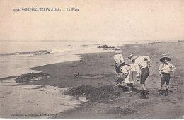 CPA SAINT-BREVIN-L' OCEAN (44) LA PLAGE - ANIMEE - Saint-Brevin-l'Océan
