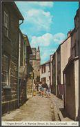 Virgin Street, St Ives, Cornwall, C.1960s - Harvey Barton Postcard - St.Ives