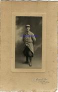 Photo Légèrement Cartonnée-soldat Du 279e Régiment -photo Maupuis Boulevard Heurteloup à Tours - War, Military