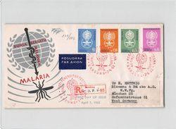 1546 01 FDC INDONESIA BANDUNG  MALARIA TO MUNCHEN - Indonesia