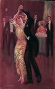 Usabal L. Couple De Danseur (1302) Usure Des Angles - Illustrateurs & Photographes
