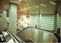 Bruxelles (1000) : Métro De Bruxelles, En Version Prémétro - Ligne 5, Station Diamant. CPSM. - Vervoer (ondergronds)