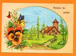 Amay. Carte Fantaisie. Bonjour De Amay. 1985 - Amay