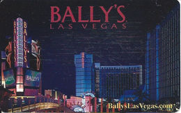 Bally's Casino - Las Vegas, NV - Phone Card - Casino Cards